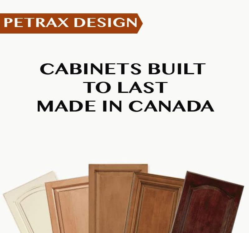 Kitchen redesign and renovation is our specialty petrax for Canadian made kitchen cabinets