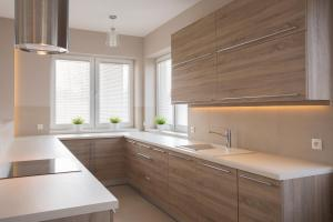 Bright wooden kitchen