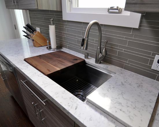 Kitchen Sink With Cutting Board Terraneg, Kitchen Ideas Great Ideas
