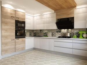 White kitchen contemporary style.